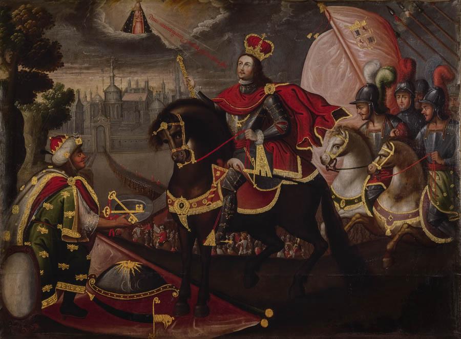San Fernando III recibe las llaves de la ciudad de Sevilla