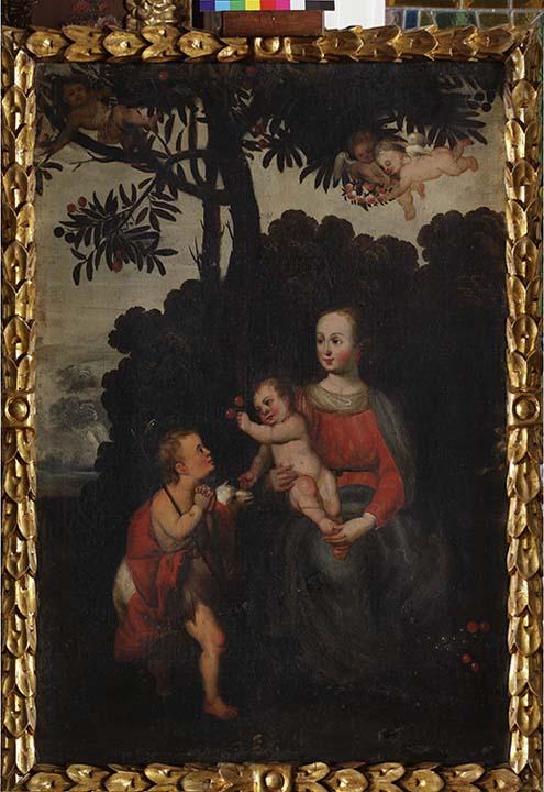Virgen con Niño y San Juanito